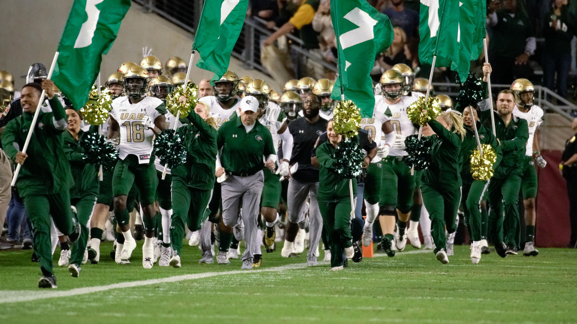 Conference USA Announces UAB's Full Television Schedule for